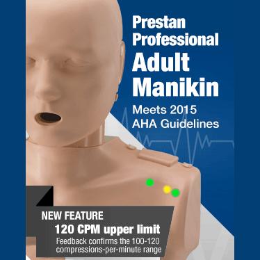 Prestan 2015 AHA CPR Guidelines Manikin