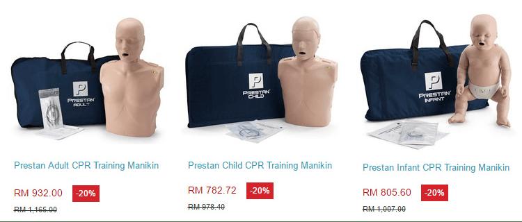 Prestan CPR manikins offer