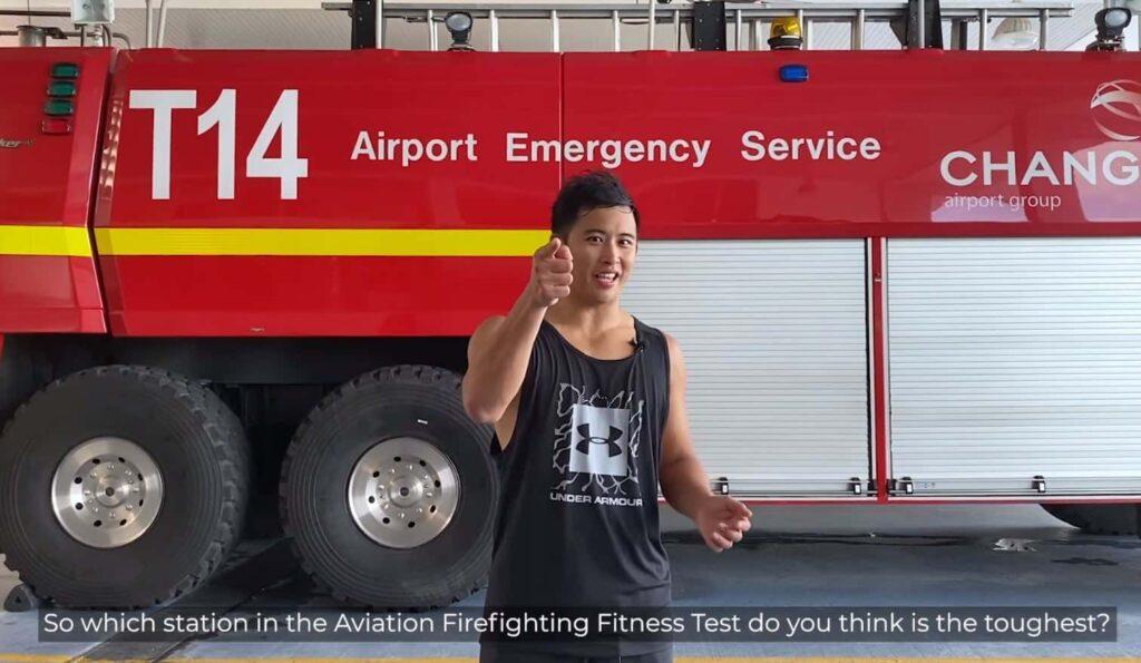 Aviation Firefighting Fitness Test AFFT