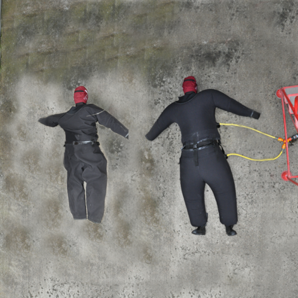 water fillable bariatric suit